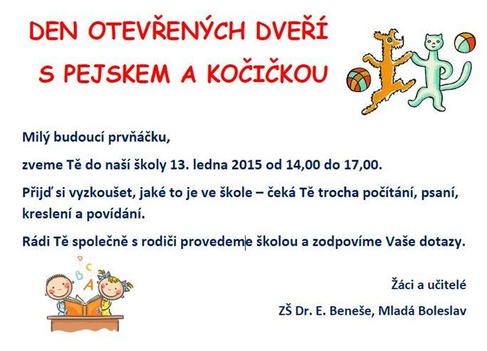 3 Zakladni Skola Porada Den Otevrenych Dveri Mlada Boleslav