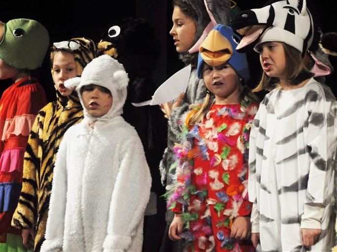 Jiřičky představily nový muzikál pro děti s názvem Archa Noemova